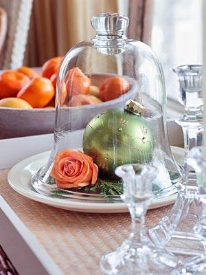 elegante adorno para mesas de Navidad, nochevieja y año nuevo
