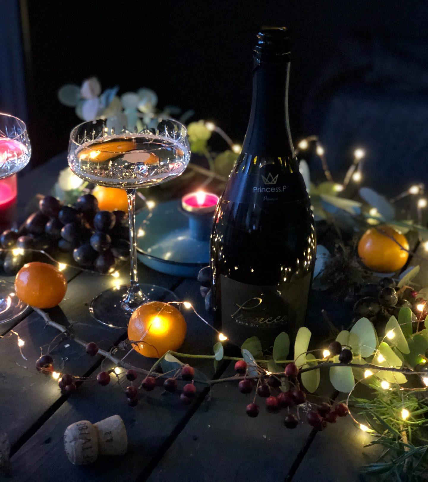 decoración de mesas de navidad  y nochevieja