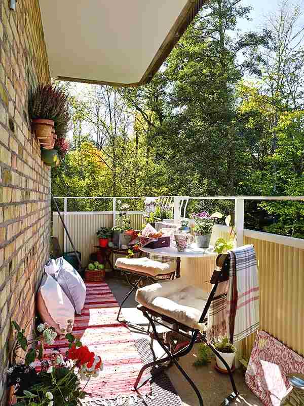 Decora la terraza todo el a o - Como decorar una terraza pequena ...