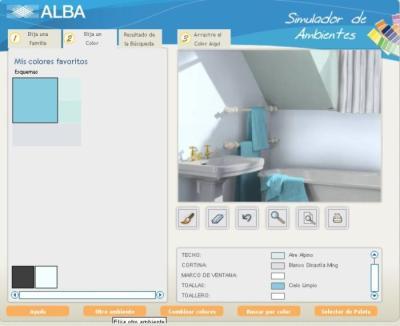 Decorar usando un simulador de ambientes - Programa para pintar paredes ...