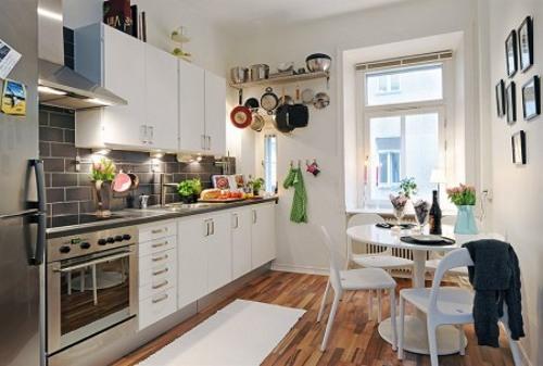 Dise o de un apartamento peque o y con estilo - Apartamentos pequenos disenos ...