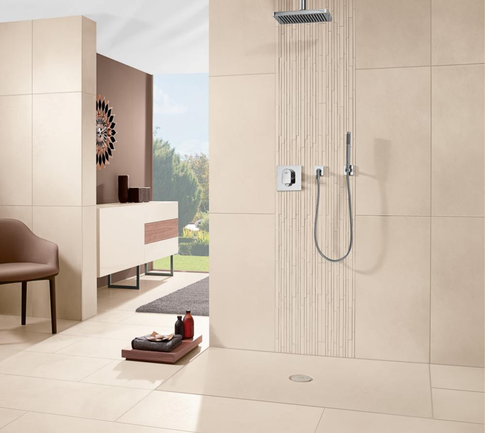 diseño ultraplano de ducha