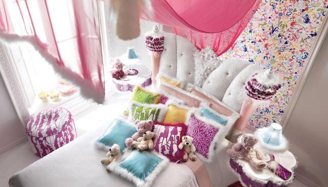 Dormitorios Elegantes y Glamourosos para Niñas