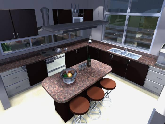 Encimera de cocina tipos de encimeras for Tipos de cocina arquitectura