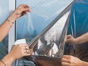 Films plasticos para ventanas - Humedecer