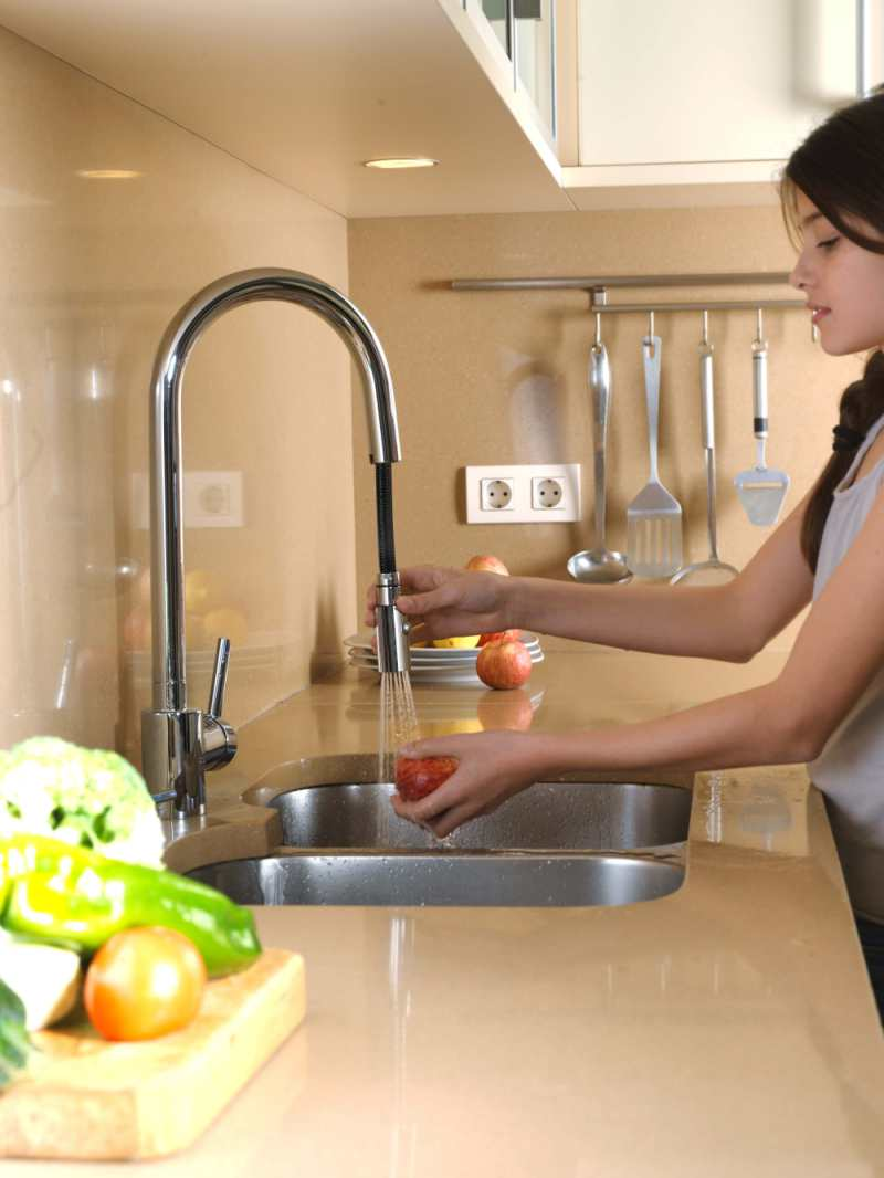 grifos extraibles para cocinas