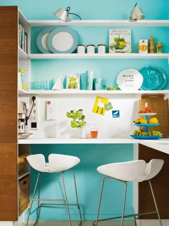 ideas para decorar cocinas pequeñas
