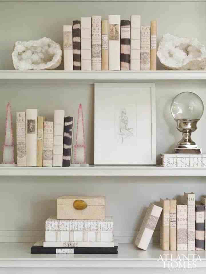 ideas para decorar con libros