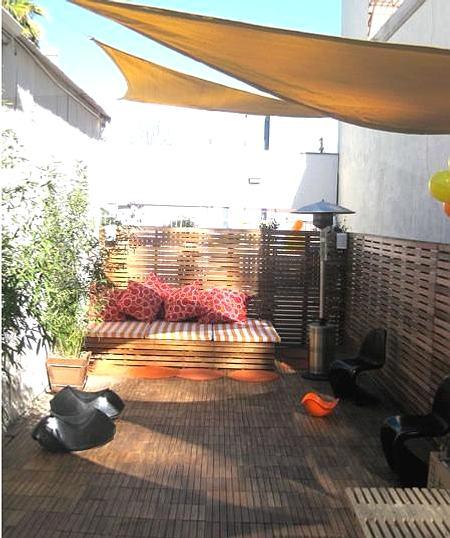 Ideas para decorar jardines y terrazas pr cticos y c modos for Ideas para decorar terrazas