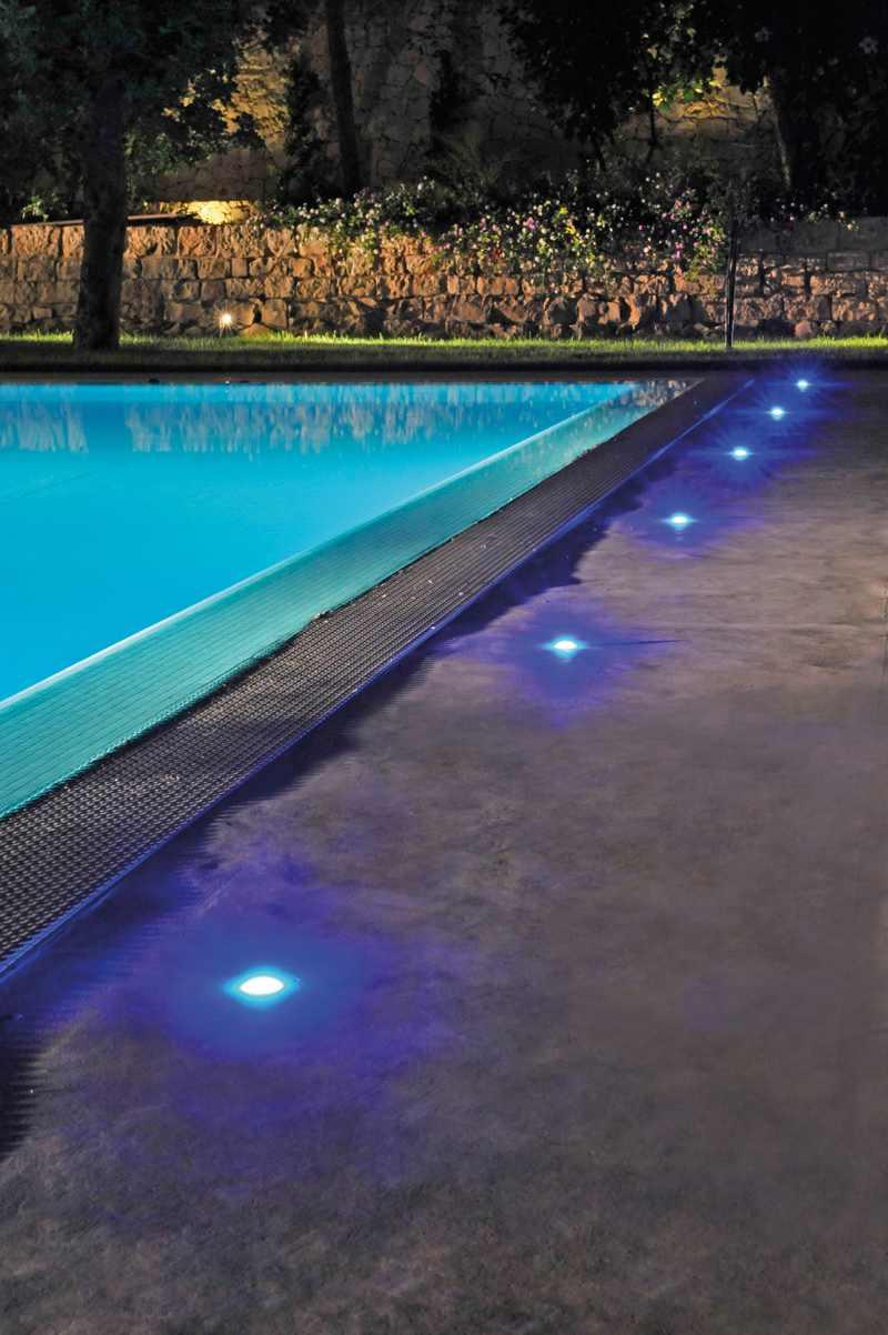 iluminacin para piscinas