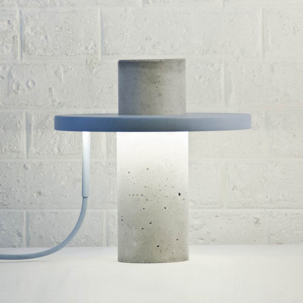 lámpara de diseño moderno y minimalista