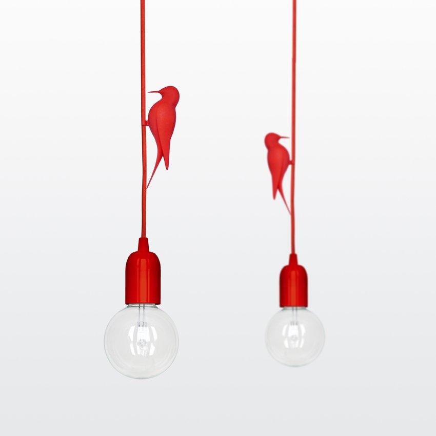 lámpara simpática y original