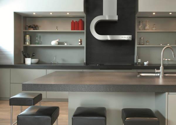 Campanas extractoras modernas para cocinas con estilo - Campanas de cocina modernas ...