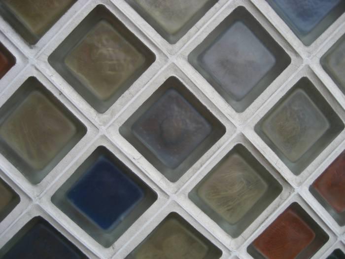 pavés de distintos colores
