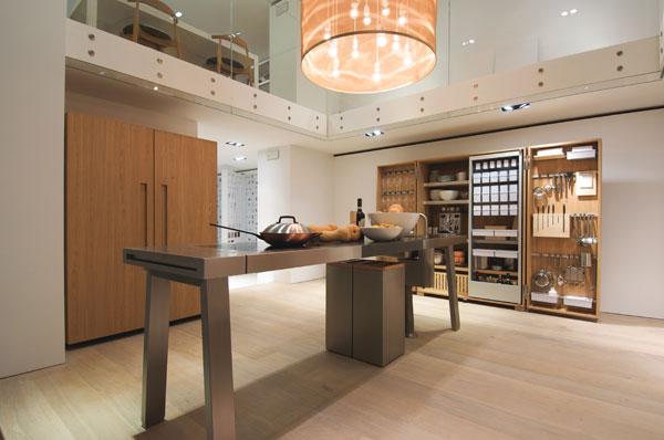 Pr cticos muebles de cocina bulthaup for Muebles de cocina practicos