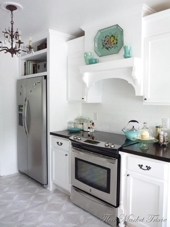 Decoraci n de una cocina pr ctica y con toques vintage for Casa practica decoracion
