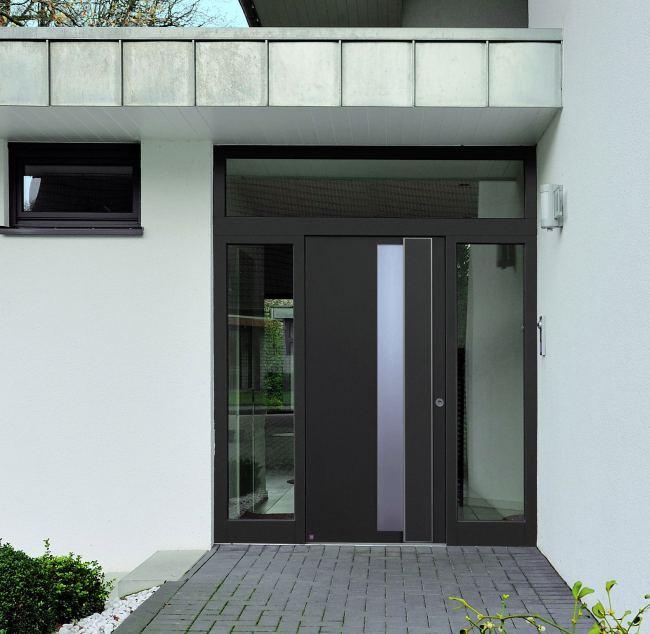 Puertas de entrada de aluminio con dise os a la carta for Puertas de entrada de aluminio