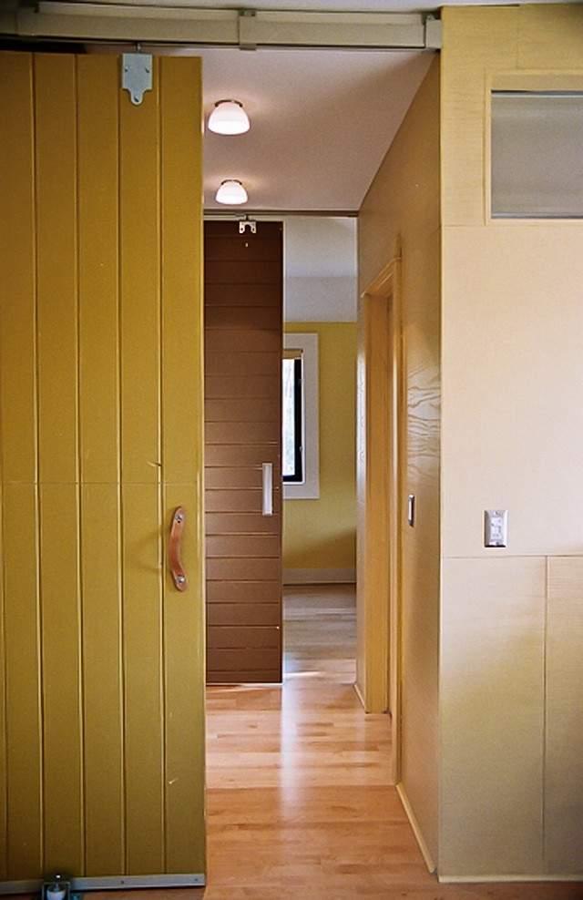 puertas para espacios pequeños