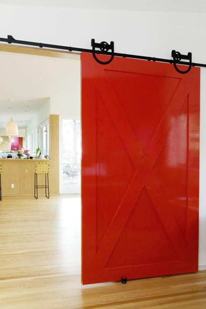 Puertas interiores de granero ideas y usos - Puertas originales interiores ...