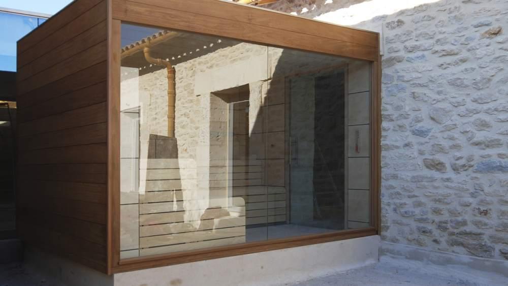 sauna de exterior