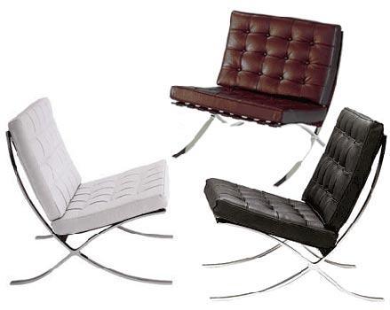 Muebles cl sicos del dise o silla barcelona for Muebles diseno barcelona