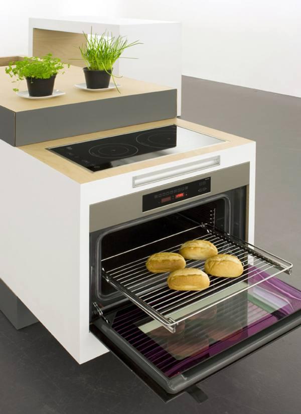 Soluciones para cocinas peque as cocina compacta y modular - Cocinas pequenas soluciones ...