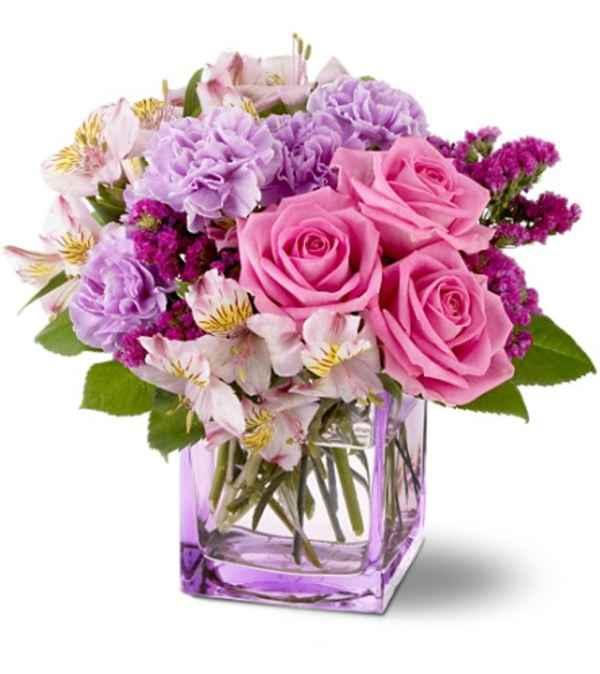 Ramo de flores frescas