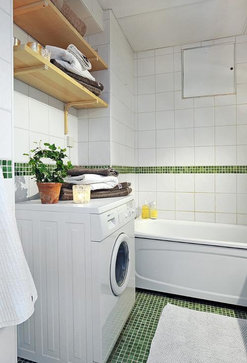 azulejos en un baño