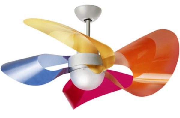 Ventilador de techo de dise o y color - Ventiladores de techo infantiles ...