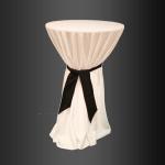 Mantel para mesa de bar