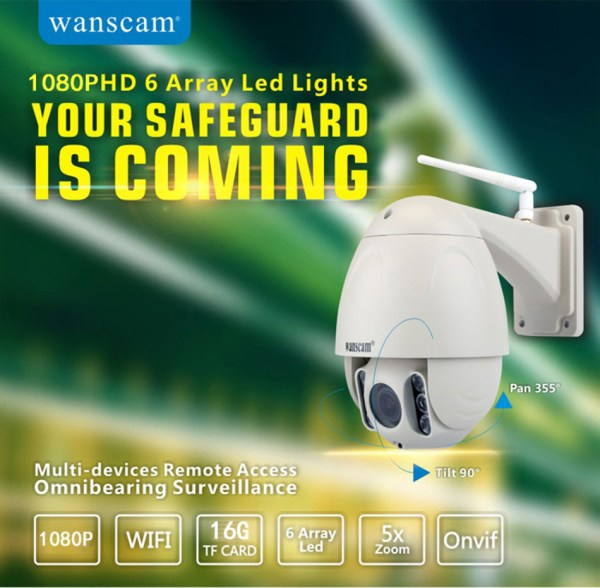 Câmera de Vigilância exterior 3