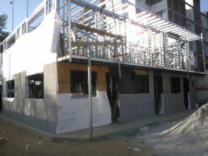 estructuras para tres plantas steel framing