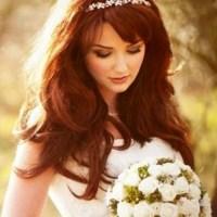 Cabelo solto para noivas