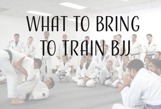 What to bring to train BJJ