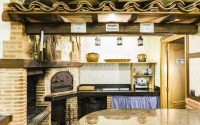 barbacoa y horno casa rural