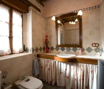 Vista de baño