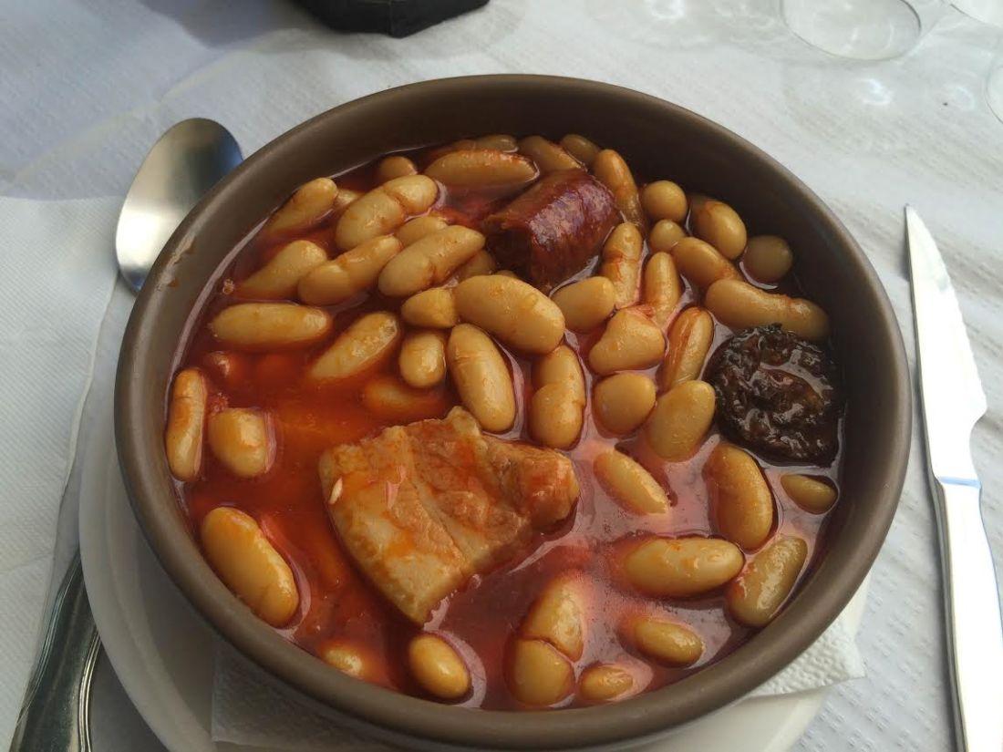 Fabada Asturiana con fabas de la vega del Sella