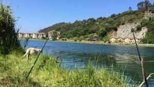 Pescando en el Rincón del Sella