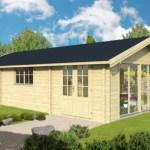 Casa de madera modelo económico ECO03