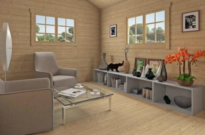 Casa de madera económica ECO04 2 - Casa de madera económica ECO04