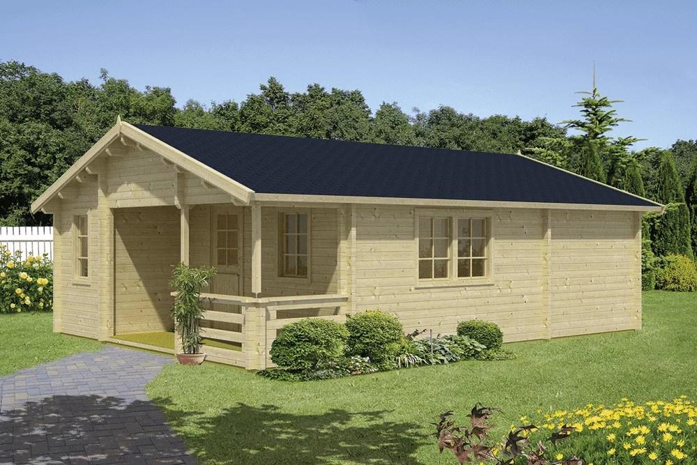 Casa de madera economica