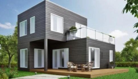 Casa prefabricada moderna modelo M03