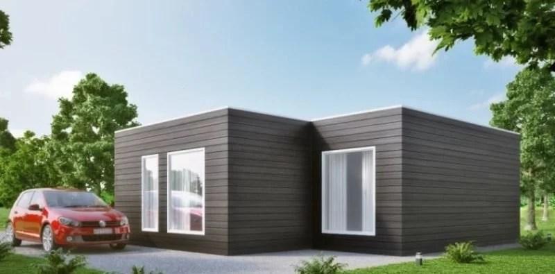 Casa prefabricada moderna modelo m02 - Modelo casa prefabricada ...
