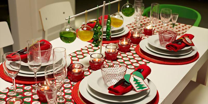 Decora tu mesa para navidad casas for Mesas para navidad