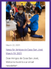 Latino newsletter