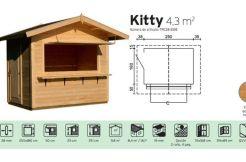 kiosco de madera