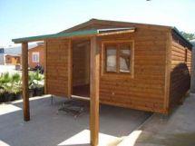 Montaje de casa modular de madera CCR de Casas Carbonell