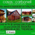 Exposición de casas prefabricadas y de madera Carbonell