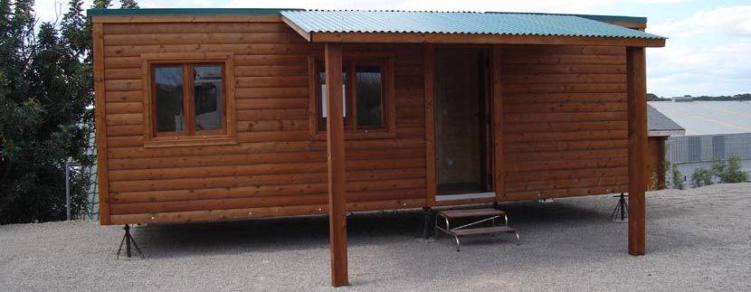 Legislación de casas de madera sin base de obra.