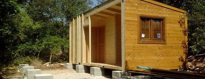 las casas de madera modulares se pueden considerar bienes muebles